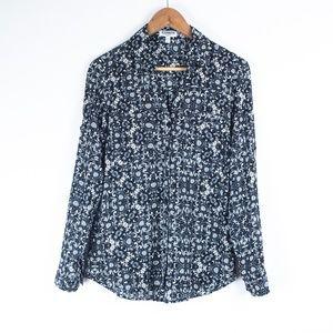 Express Scroll Print Button Down Portofino Shirt